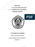 Proposal RAB 2010-2011