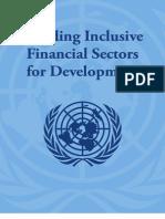 Building Inclusive Financial Sectors the Blue Book