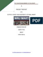 Wal Mart Scm
