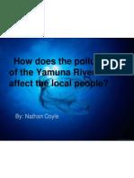 Yamuna River Pollution -Nathan