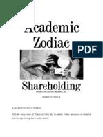 Share Holding Zodiac
