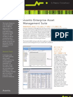 Datasheet Avantis Enterprise Asset Management 07-10