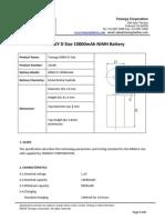 Tenergy Data Sheet NiMH D 10000mAh (1)
