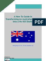 How to Transform an Australian Shelter Into a No Kill Shelter