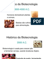 Histórico da Biotecnologia