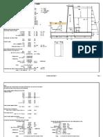 Concrete Wall Design ( EFFLUENT )