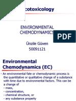 Environmental Chemodynamics- Ünzile Güven