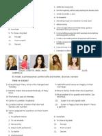 Desperate Housewives Season 1 Episode 1 Worksheet
