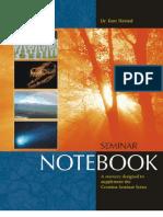 CSE Seminar Notebook (PBS)