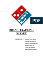 Brand Tracking Survey _ Group 5