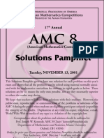 2001AMC8 Solutions