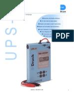 Druck UPS-II Loop Calibrator