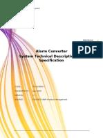 Alarm Converter Technical Description