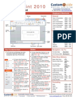 Power Point Quick Reference 2010