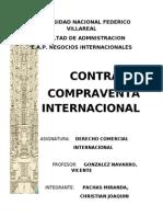 Carátula Contrato Compraventa Internacional
