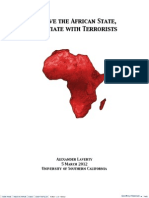 To Save the African State, Negotiate with Terrorists