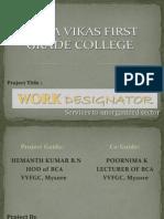 Work Design at Or