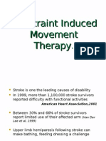 Constraint Induced Manual Therapy