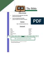 Yr 8 Bible