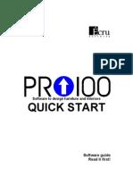 PRO100 Quick Start