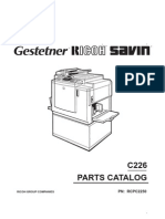 Xerox C226 Parts Manual