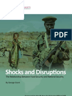 Shocks and Disruptions the Relationship Between Food Security and National Security