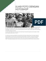 Manipulasi Foto Dengan Adobe Photoshop