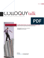 2011 COLLOQUY Census Talk White Paper