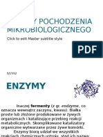 enzymy drobnoustrojów