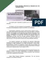 EL SISTEMA EDUCATIVO ESPAÑOL PROVOCA EL FRACASO DE 6 DE CADA 10 ALUMNOS SUPERDOTADOS