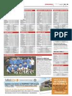 Clasificaciones de las ligas de Futbolcity en Superdeporte. 16 de Mayo 2012