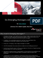 Do Emerging Managers Add Value ( Mar 2012 )