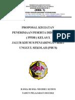 Proposal Ppdb Sma1kds 2012 2013 Jalur Pbus