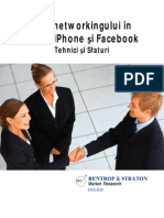 Arta Networkingului in Epoca iPhone Si Facebook
