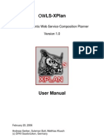 OWLS XPlan 1 Manual