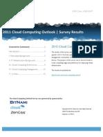 Wp 2011 Cloud Computing Outlook Survey