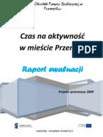 raport ewaluacji 2009 - poprawny