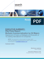 Biofuels Commercialization by Oil Majors-1Q12-Executive-Summary[1]