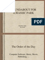 JurassicPark 04 the Order of the Day