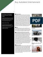 Autodesk Entertainment Creation Suites 2013 - 10 Razones para comprar