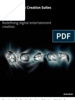 Autodesk Entertainment Creation Suites 2013 - Folleto