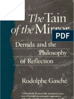 Rodolphe Gasché - The Tain of the Mirror