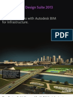 Autodesk Infrastructure Design Suite 2013 Folleto