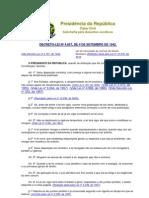 Lei de Introdução às normas do Direito Brasileiro (LEI Nº 4.657, DE 4 DE SETEMBRO DE 1942).(Redação dada pela Lei nº 12.376, de 2010)