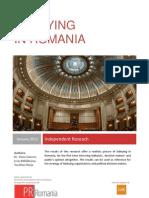 Lobbying in Romania 2012 - English Version