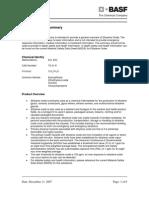 Ethylene Oxide Product Safety Summary