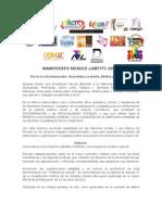 Manifiesto México LGBTTTI 2012