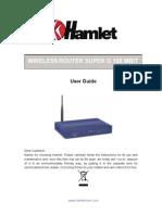 Hamlet Router Hnws108 Man Eng
