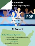Evaluation Plan BeckerMD Peer Mentoring - Chan