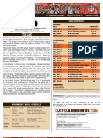 Browns Media Notes vs. Pittsburgh